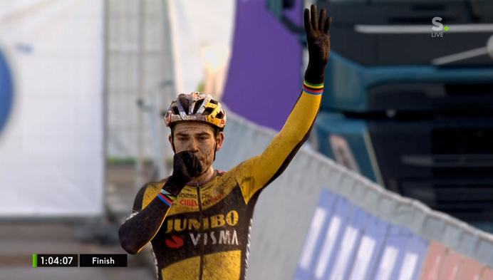 Wout van Aert pakt nieuwe Belgische titel