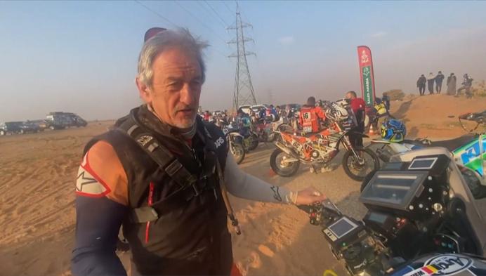 Joël Roelants volgt avonturen van vader Walter in Dakar Rally op de voet