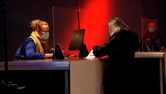 Generale repetitie in vaccinatiecentrum in Willebroek