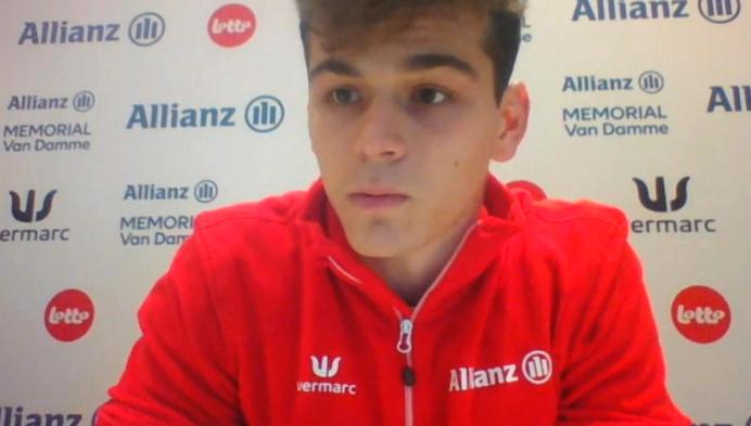 Kobe Vleminckx wil stunten op 60m op EK indoor in Polen