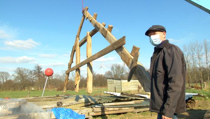 Kempense dwarsschuur wordt gereconstrueerd in Mol-Sluis