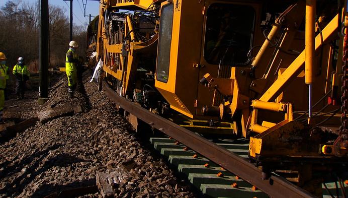 Spoorlijn krijgt eerste recycleerbare Kempense dwarsliggers