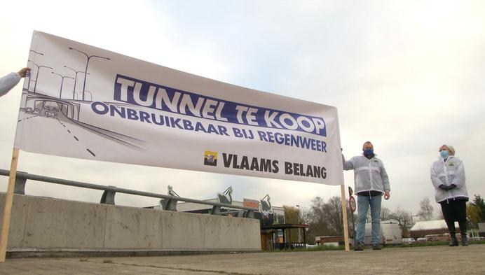 """Vlaams Belang zet Pallietertunnel te koop: """"Onderhoudswerken beu"""""""