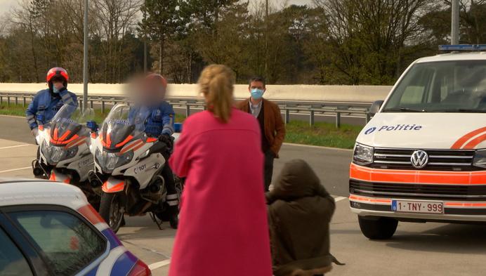 Politie voert grenscontroles uit bij start paasvakantie