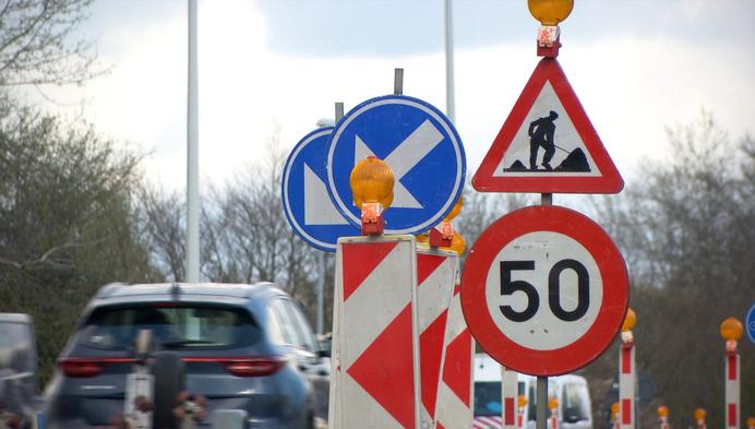 Hinder mogelijk door afgesloten op- en afrit Turnhout-Centrum