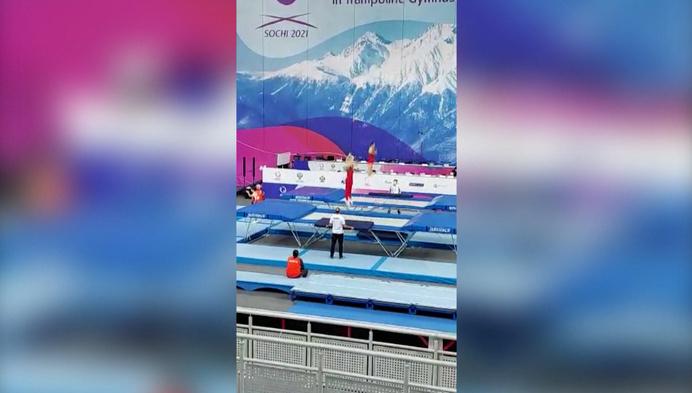 Wannes en Joris Geens opnieuw in competitie op EK Trampoline