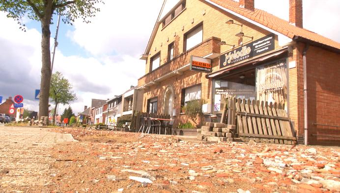 Lilse brasserie kan terras niet openen door werken aan fietspad