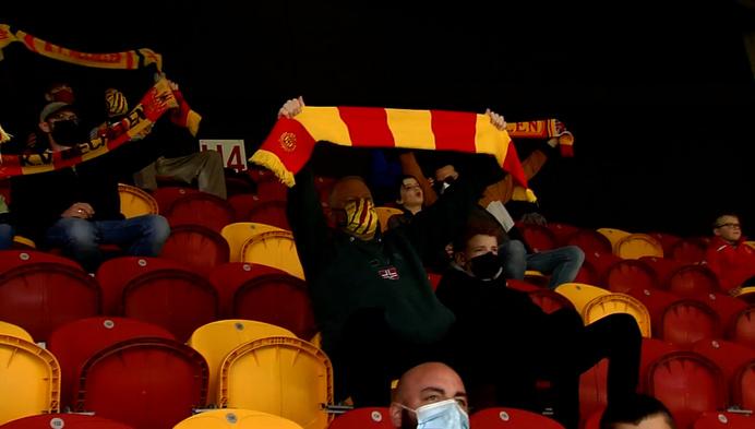 Supporters met autisme zien KV Mechelen winnen tegen Standard