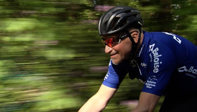 Ludo Dierckxsens verkent parcours Baloise Belgium Tour