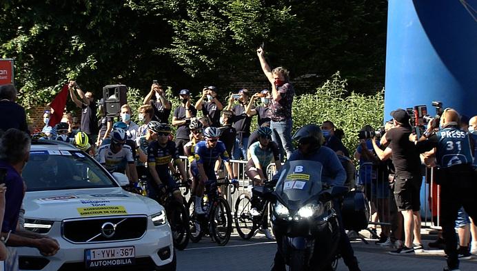 Start Baloise Belgium Tour in Tunhout  brengt veel volk op de been