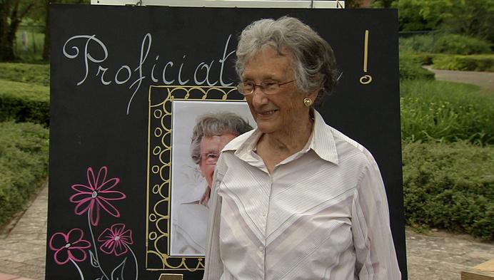 WZC Ter Nethe viert feest: Anna Warpy wordt 107