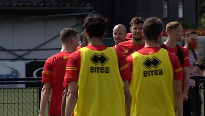3 nieuwkomers op eerste training KV Mechelen
