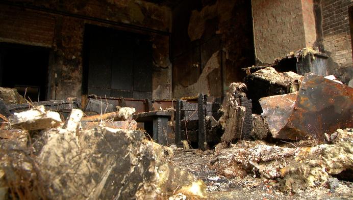 """Schade enorm bij Chiro Heultje: """"Veel kampmateriaal verwoest"""""""