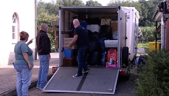 Koppel uit Berlaar zamelt spullen in voor slachtoffers van wateroverlast