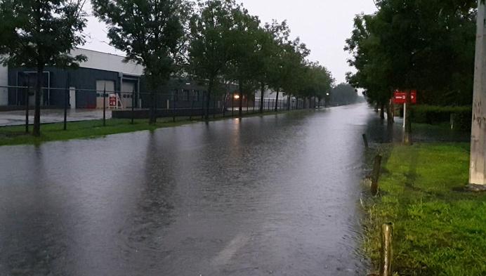 Wateroverlast in Herentals, Nijlen en Lier