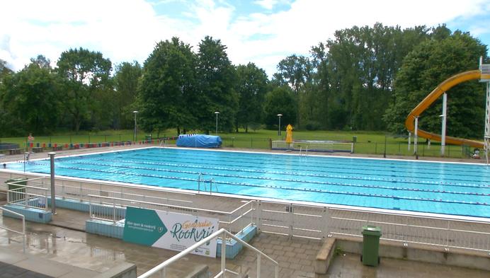 Zwembad Vita Den Uyt in Mol kan nu al spreken van slechte zomer