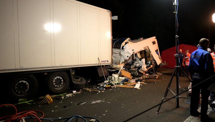 Dodelijk slachtoffer bij zwaar verkeersongeval op E 34