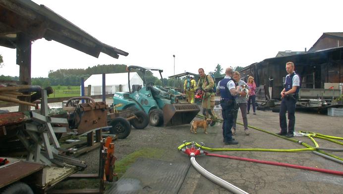 Paarden gered in uitslaande brand aan Tervuursesteenweg in Mechelen