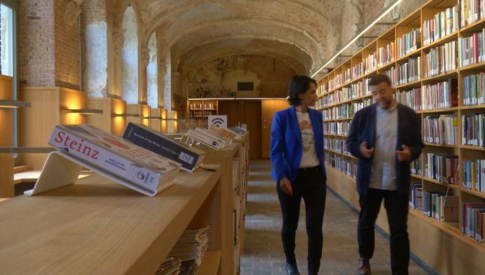 Het Predikheren wordt een levende bibliotheek