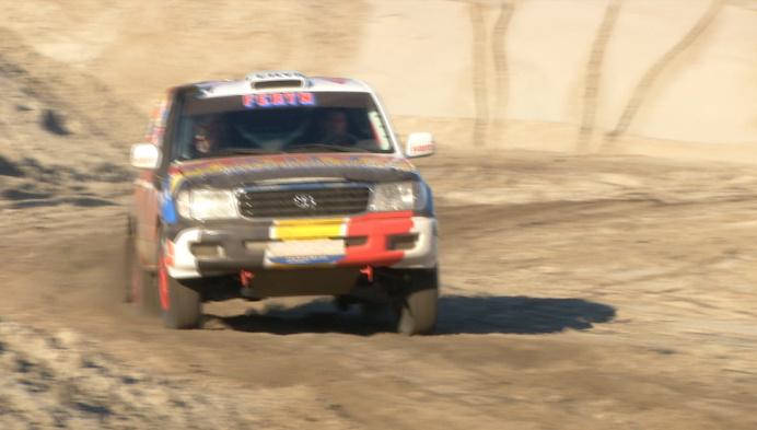 Feryn en Wauters testen rallywagen met Kempens/Mechels team