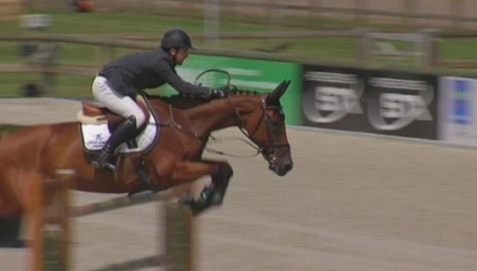 Grote Prijs Flandria Rent jumping in Azelhof Lier