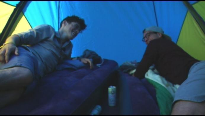 RTV-kijkers Diede en Jonas kamperen mee op Kolonie