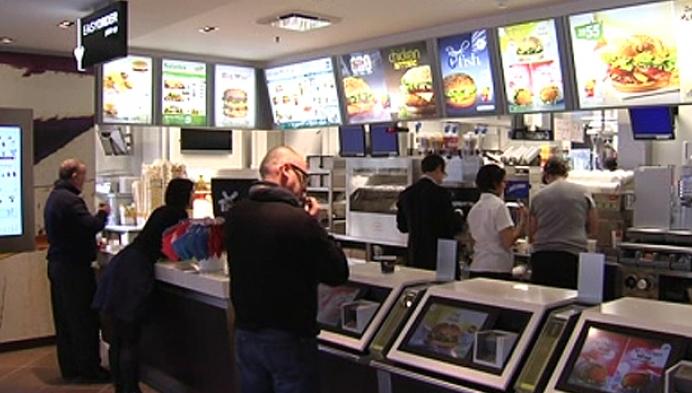 McDonalds langs het Kruisven in Mol