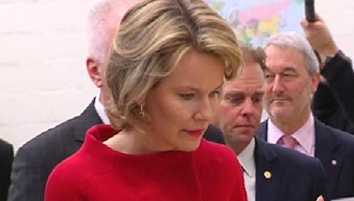 Koningin Mathilde bezoekt CC Heist-op-den-Berg