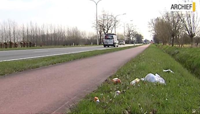 Meer en meer zwerfvuil langs wegen in Bornem